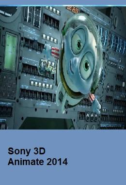 SONY 3D animate 2014