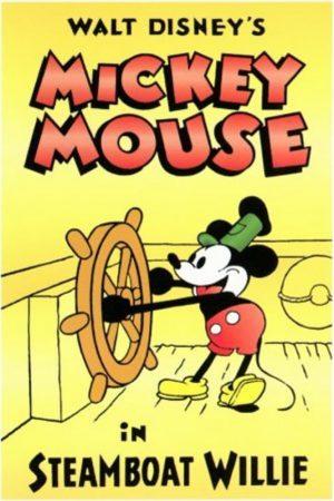 دانلود انیمیشن کوتاه Steamboat Willie