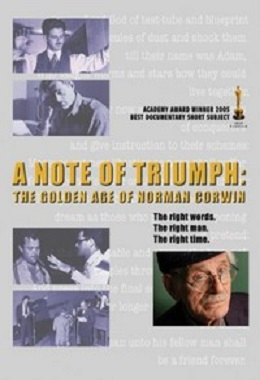 دانلود مستند کوتاه A Note of Triumph: The Golden Age of Norman Corwin
