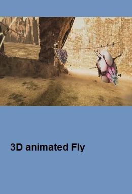 دانلود انیمیشن کوتاه سه بعدی ۳D Animated Fly