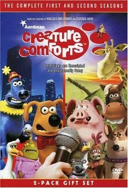 دانلود انیمیشن کوتاه Creature Comforts