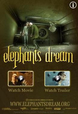 دانلود انیمیشن کوتاه Elephants Dream