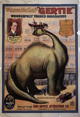 دانلود انیمیشن کوتاه Gertie the Dinosaur