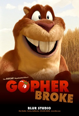 دانلود انیمیشن کوتاه Gopher Broke