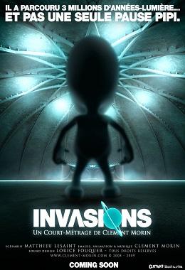 دانلود انیمیشن کوتاه Invasions