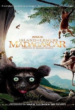 دانلود مستند کوتاه Island of Lemurs: Madagascar