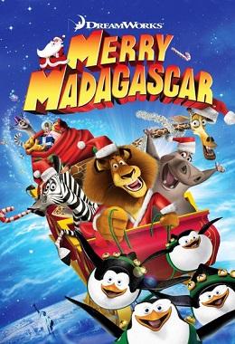دانلود انیمیشن کوتاه Merry Madagascar