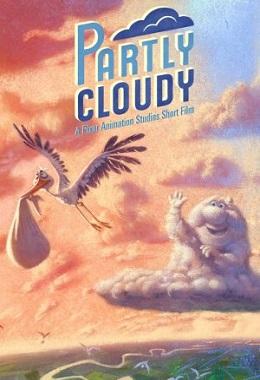 دانلود انیمیشن کوتاه Partly Cloudy