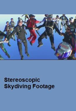 دانلود مستند کوتاه سه بعدی Stereoscopic Skydiving Footage