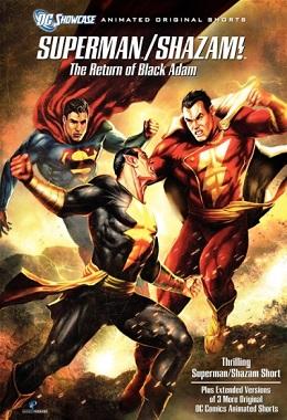 دانلود انیمیشن کوتاه Superman/Shazam: The Return of Black Adam