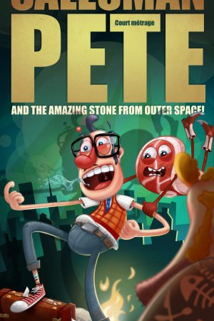 دانلود انیمیشن کوتاه Salesman Pete and the Amazing Stone from Outer Space