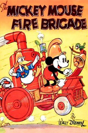 دانلود انیمیشن کوتاه Mickey's Fire Brigade
