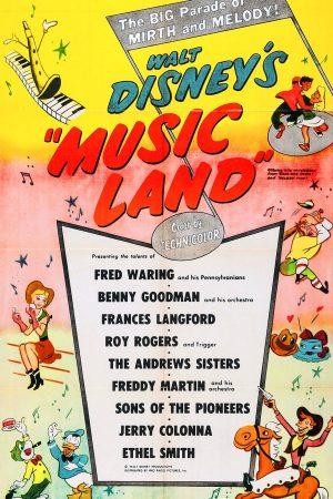 دانلود انیمیشن کوتاه Music Land