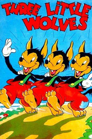 دانلود انیمیشن کوتاه Three Little Wolves