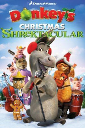 دانلود انیمیشن کوتاه Donkey's Christmas Shrektacular