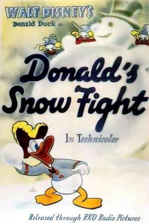 دانلود انیمیشن کوتاه Donald's Snow Fight