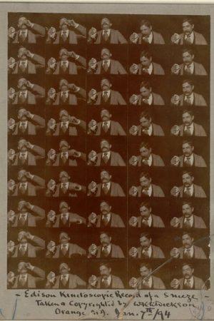 دانلود مستند کوتاه Edison Kinetoscopic Record of a Sneeze