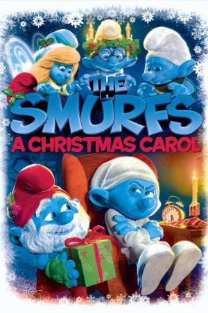 دانلود انیمیشن کوتاه The Smurfs: A Christmas Carol