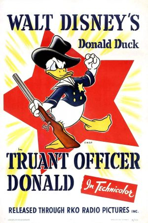 دانلود انیمیشن کوتاه Truant Officer Donald