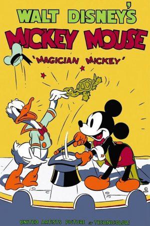 دانلود انیمیشن کوتاه Magician Mickey