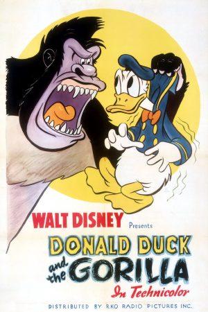 دانلود انیمیشن کوتاه Donald Duck and the Gorilla