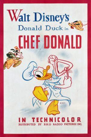 دانلود انیمیشن کوتاه Chef Donald